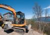 Case Midi -excavators