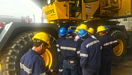 Manitowoc expands crane technician training in Mexico