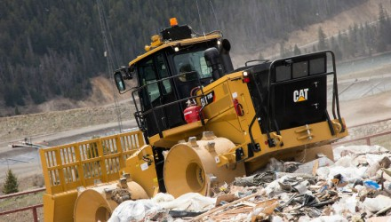 Cat 816K landfill compactor designed for optimum compaction performance, low-cost operation and multiple-life service