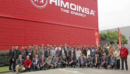 HIMOINSA China celebrates its 10th year anniversary