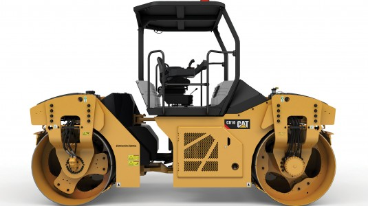 Caterpillar adds oscillatory vibration system to the new CB10 Asphalt Compactor