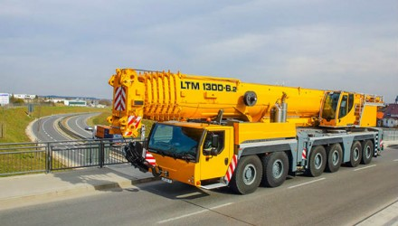 Liebherr presented LTM 1300-6.2 Mobile Crane at Bauma China