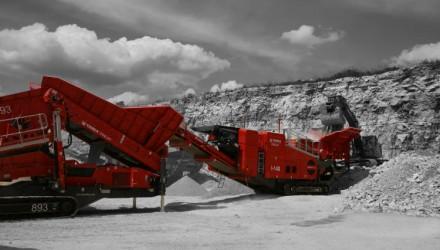 Terex Finlay I-140 impact crusher