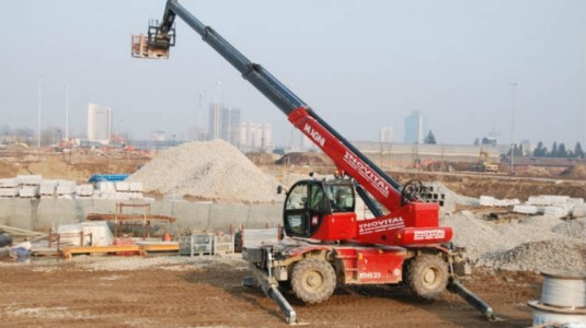 Magni Telescopic Handlers will be present at Samoter 2017