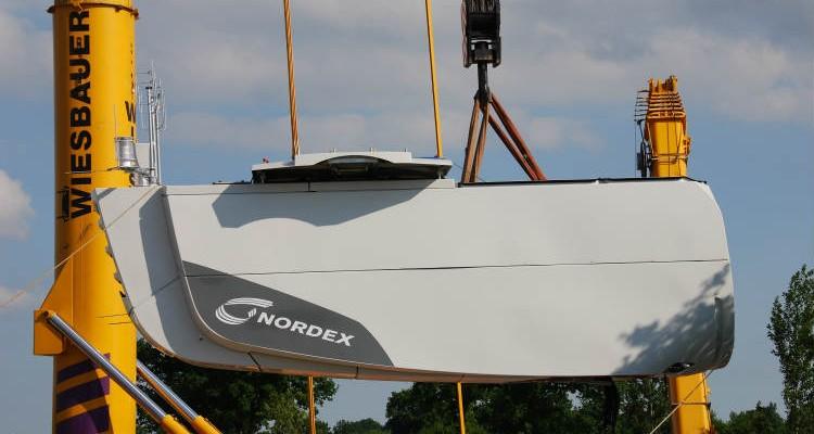 Nordex supplies 22 large turbines of Mount Gellibrand