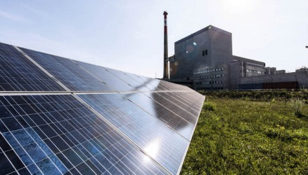 Fronius installs inverters in a former nuclear power plant