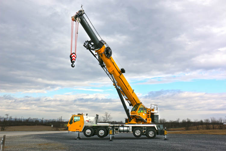Grove Unveils The Tms9000 2 Truck Crane Tunnel