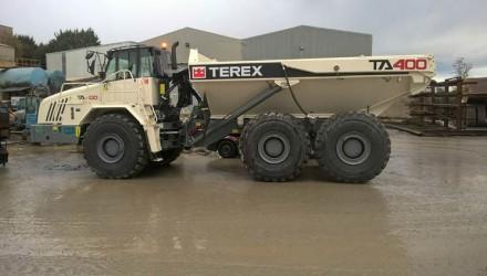 Terex Trucks' TA400 shows concrete performance in Northern Ireland