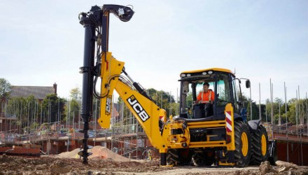 JCB Pilingmaster delivers new ground engineering solution