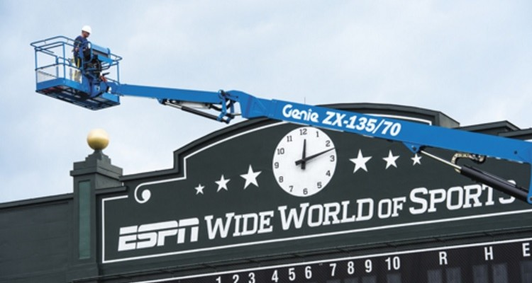 Introducing a new generation of the Genie ZX-135/70 boom lift