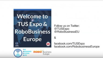Robotics and drones take center stage during RoboBusiness Europe and TUS Expo
