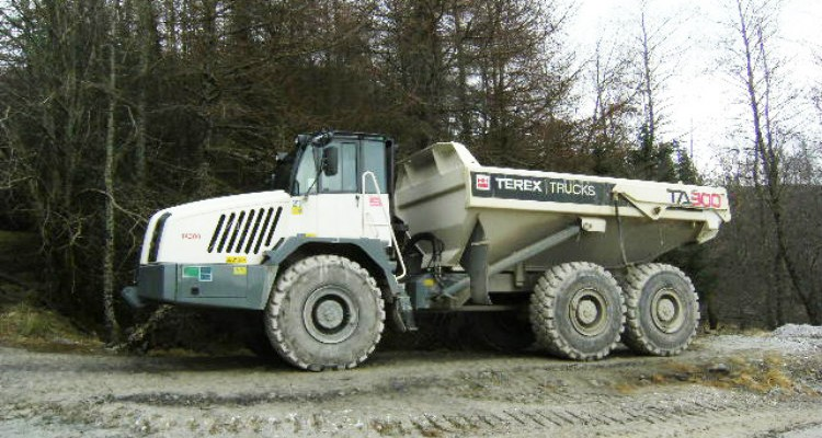 28-tonne TA300 hauler wins favour at Scottish barite mine
