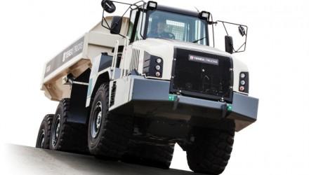Terex Trucks' Gen10 TA300 makes Northern Ireland debut at Balmoral 2017