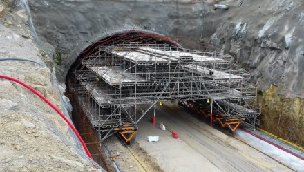 ULMA Solutions for the Widest Tunnel on the Iberian Peninsula