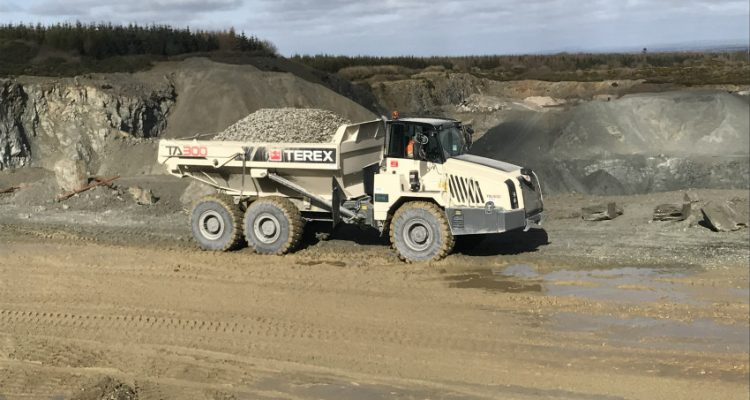 Terex Trucks makes a solid move in Ireland with the TA300