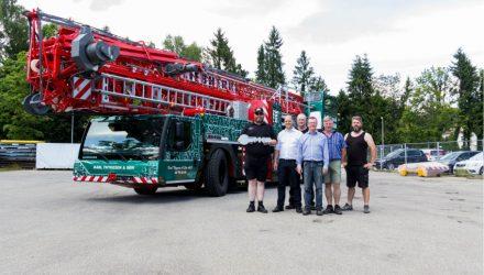 Thygesen buys second Liebherr MK 88 mobile construction crane