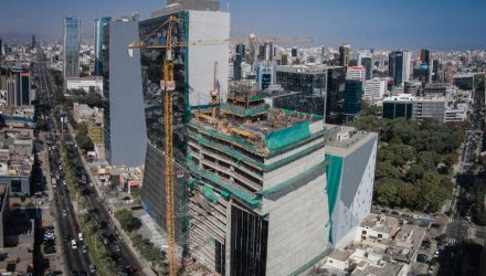 ULMA takes part in the construction project of the sustainable building Javier Prado Tower in Lima