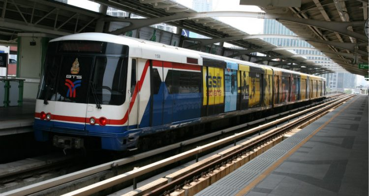 Thales at the Bangkok metro's Blue Line Extension