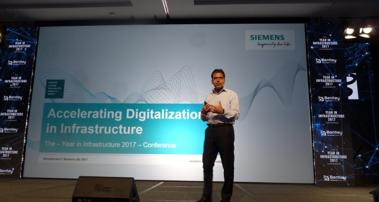 Siemens 'digital twins' at Year in Infrastructure 2017