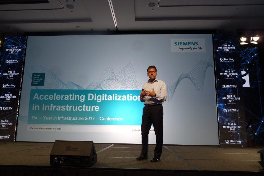 Siemens 'digital twins at year in infrastructure