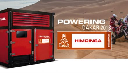 HIMOINSA, official power supplier at Dakar 2018