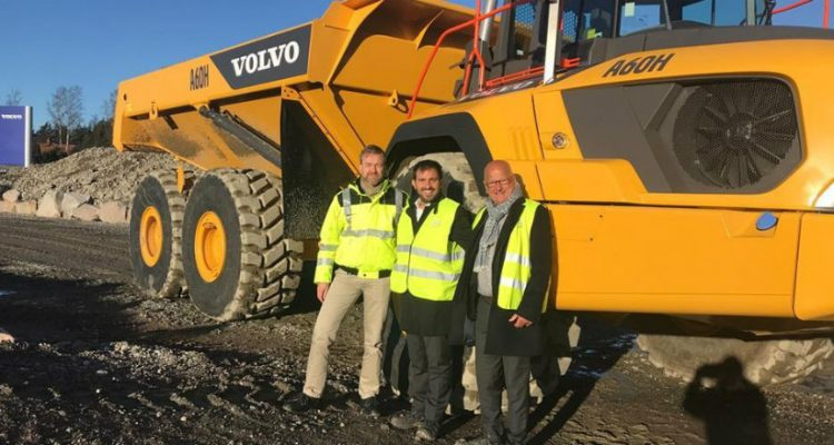 CECE Secretary General visits Volvo CE facilities in Eskilstuna