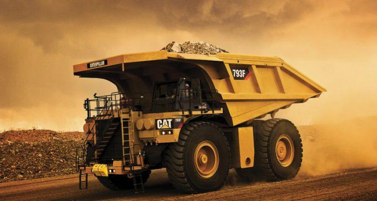 Caterpillar produces 5000th 793 Mining Truck