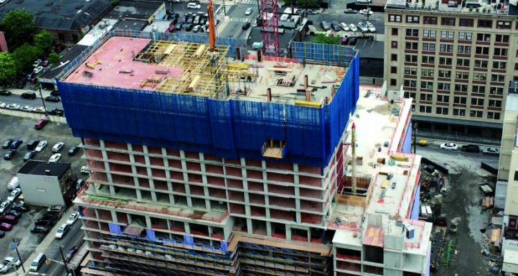 ULMA in the construction project of the new residential complex built in Provost Square, New Jersey