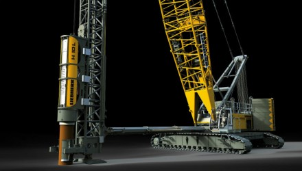 Liebherr_LRH 600 piling rig