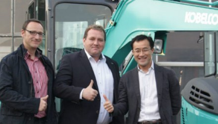 German network expansion for Kobelco