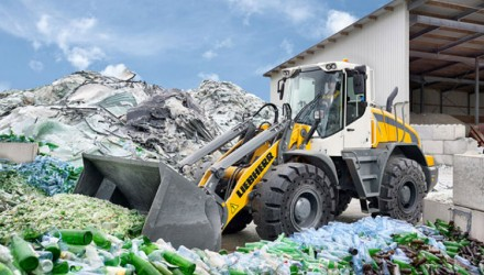 Liebherr all round wheel loader recycling