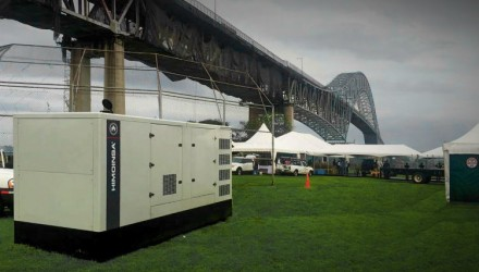 HIMOINSA generator sets supply emergency power to Gas Natural Fenosa Servicios in Panama