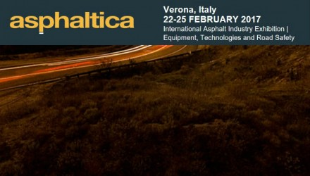 Road machinery: Italy catches up with marketrecovery sector appointment at Asphaltica 2017