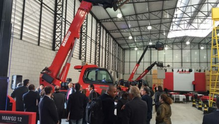 Manitou launches its first factory in Latin America