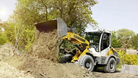 Compact and agile Liebherr earthmoving machines at the GaLaBau 2016 trade fair