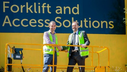 1000th Haulotte machine marks high safety and efficiency
