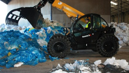 "The very first delivery of HTL 3510 Option ""Waste & Recycling"" for McKenzie NI Ltd."