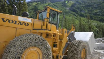 Volvo helps extract rich reward at Treasure Mountain