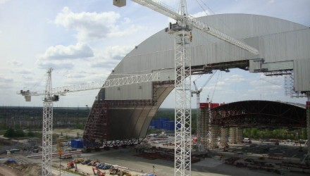 Manitowoc Potain cranes: 10 years of lifting at landmark Chernobyl site