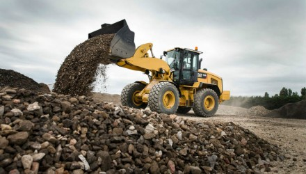 Cat M Series Small Wheel Loaders with performance-enhancing upgrades