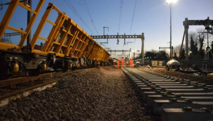Crossrail works successfully delivered by Network Rail over Christmas
