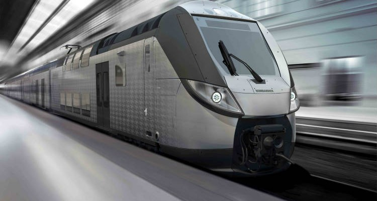 Bombardier to Build 40 OMNEO Premium Double Deck Intercity Trains for Normandy, France