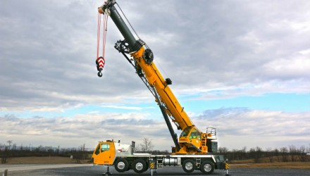 Grove unveils the TMS9000-2 truck crane