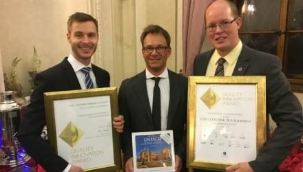 HX1 prototype autonomous wins two prestigious global awards