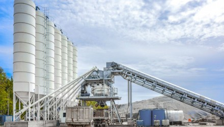 Liebherr concrete mixing plant used to expand second largest airport in Russia