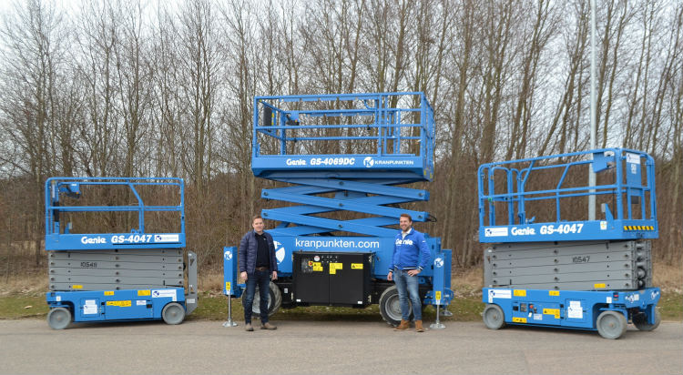 Tunnel & Infrastructures Thirty more Genie Scissor Lifts for