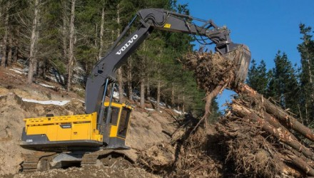 Custom-built Volvo excavators in the New Zealand economy