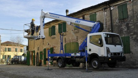 Telescopic aerial working platform ForSte 20TJ – E