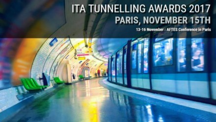 The International Tunnelling and Underground Space Association launches 3rd edition of the ITA Tunnelling Awards