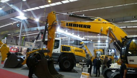 Liebherr earthmoving equipment range at SMOPYC 2017